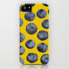 Blueberry pattern iPhone (5, 5s) Slim Case