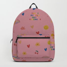 TPWK Patterns (Pink) Backpack