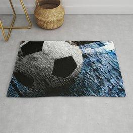 Soccer art variant vs 1 Rug