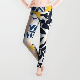 Outdoor: florals matching to design for a happy life Leggings