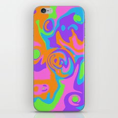 Abstract Tie Dye iPhone & iPod Skin
