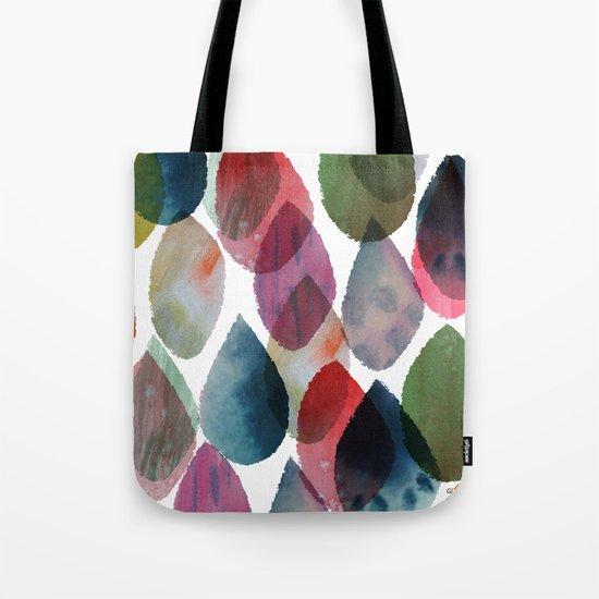 Rainbow Showers Tote Bag