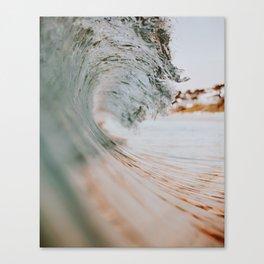 summer waves xiii Canvas Print