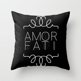 Amor Fati Throw Pillow