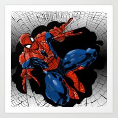 Spidey Color Art Print