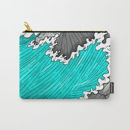 The Rocks And The Sea Carry-All Pouch
