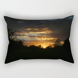 How I Miss Those Southern Sunsets Rectangular Pillow