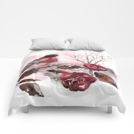 Spring Rests In The Heart Of Winter Comforters
