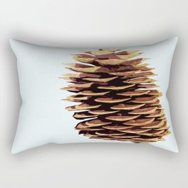 Simple Modern Pinecone Digital Art Rectangular Pillow