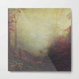 Fall Impressions Metal Print