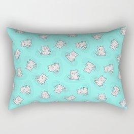 Kitty Bath Time Rectangular Pillow