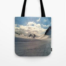 Snowcapped Iceland Tote Bag