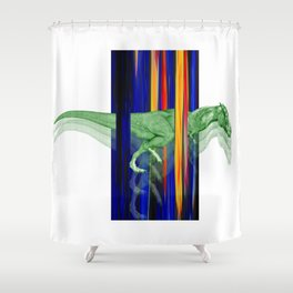 Horseosaur #society6 #decor #buyart #artprint Shower Curtain