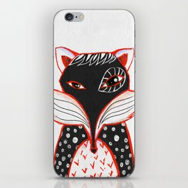 Kaleidoscope Fox iPhone Skin
