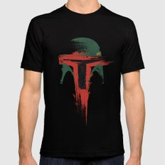 Bounty Hunter Black Mens Fitted Tee LARGE
