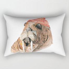 Walrus Zissou Rectangular Pillow