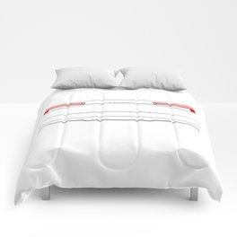 A3 8V 2016 Back White Comforters