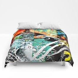 Exquisite Corpse: Round 4 Comforters