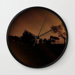 Mysterious Night Wall Clock
