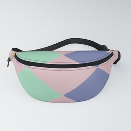 mini artwork geometric colorful Spring Fashion 2019 abstract  A breakthrough towards the future Fanny Pack