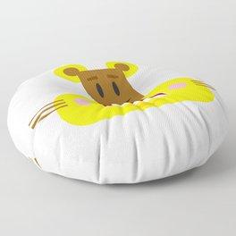 Cute Cartoon Lioness Floor Pillow