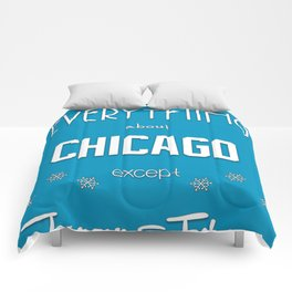 Chicago (but not Winter) Comforters