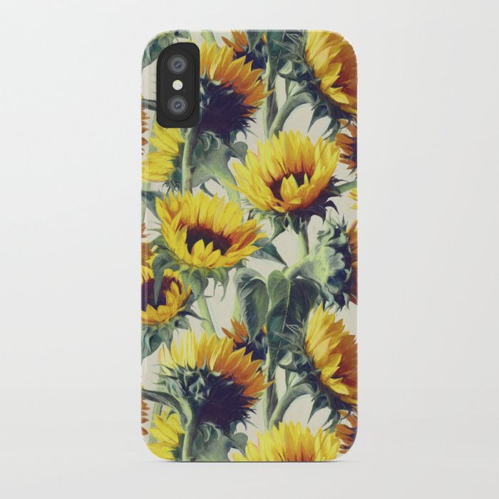 Sunflowers Forever iPhone Case