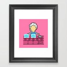 Part Time Job - Frozen Seafood Factory Framed Art Print