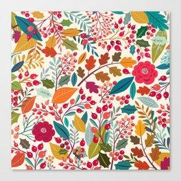 Autumn collection Canvas Print