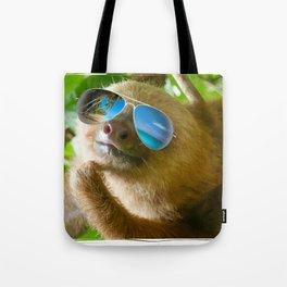 Sloth with Sunglasses, Chillin' Tote Bag