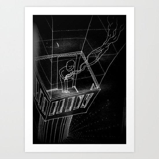 broken spirit Art Print
