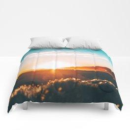 California Sunset Comforters