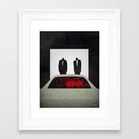 pulp Framed Art Prints featuring Pulp by Osvaldo Casanova