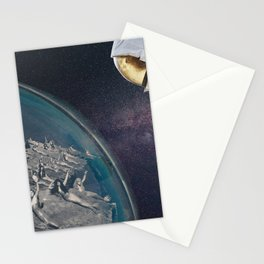 Travel by space Stationery Cards