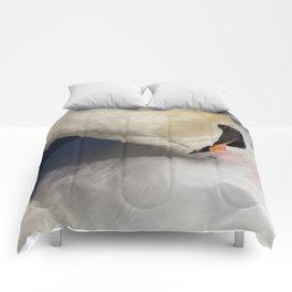 The Quiet Swan Comforters