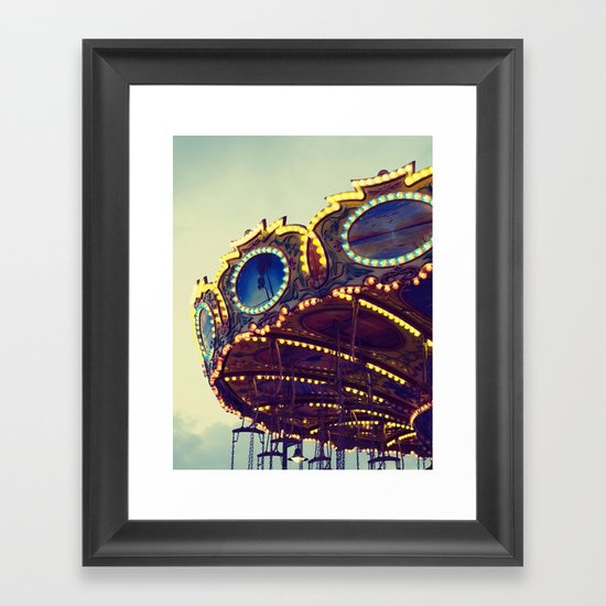 Blue Hour at the Carnival II Framed Art Print