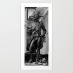 Horatio Nelson Statue - Greenwich Art Print