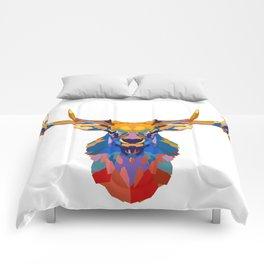 Wild Elk Comforters