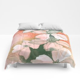 Dogwoods Sketch in Red Comforters
