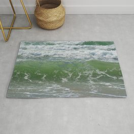 Loving the Waves number 1 Rug