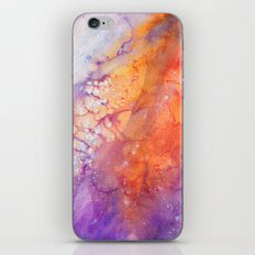 Silent moon iPhone & iPod Skin