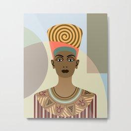 Queen Nefertiti Metal Print