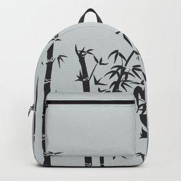 Bamboo black - grey Backpack