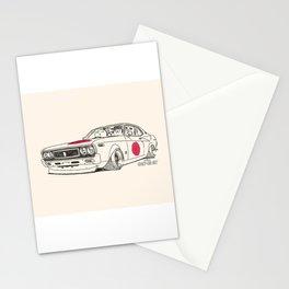 Crazy Car Art 0162 Stationery Cards