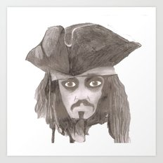 Captain Jack Sparro Art Print
