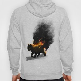 This Cat Is On Fire! Hoody