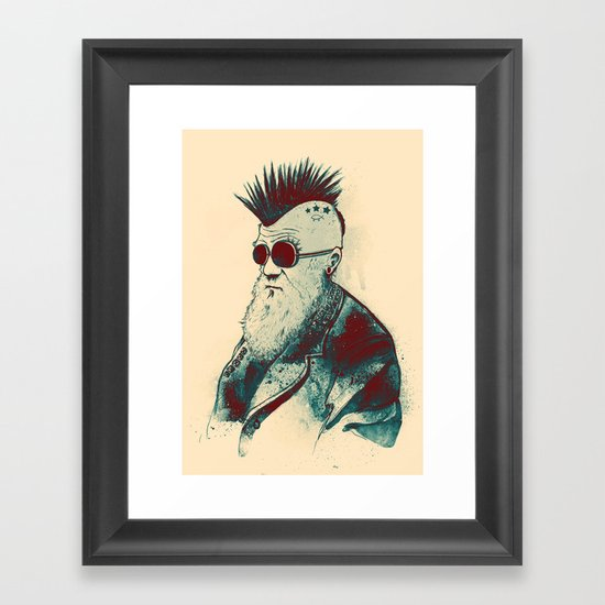 Evolution of Charles Framed Art Print