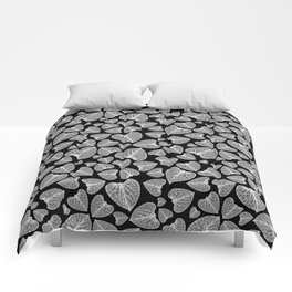 Black White Pattern Comforters