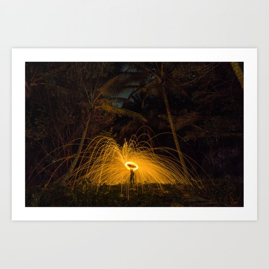 Smoke Signal Art Print