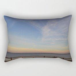 Morning Moon Rectangular Pillow